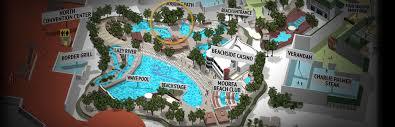 mandalay bay pool map pool and gazebos mandalay bay las vegas