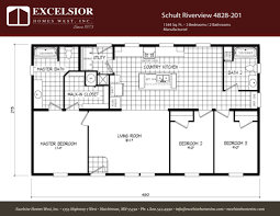 schult modular home floor plans schult riverview 4828 201 excelsior homes west inc