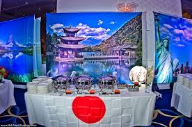 Around The World Themed Daniel S Around The World Travel Themed Bar Mitzvah At The