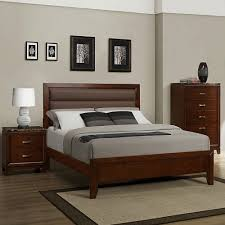 platform bedroom set u2026 platform bedroom set in brown cherry u2013 2112