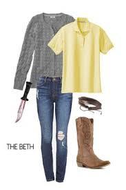 Walking Dead Costumes Halloween Beth Greene Costume Cosplay Walking Dead Costumes