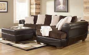 North Shore Dark Brown Sofa Decorating Black Leather Ashley Furniture Sectional Sofa With