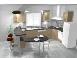 Plan De Travail Bar Cuisine Americaine by Decoration Table De Cuisine Avec Plan De Travail Magnat X La