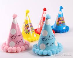 birthday hats happy birthday hats dot headwear children s party top