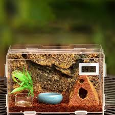 luxury acrylic herp pet cage terrarium reptile small animals