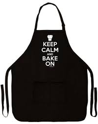Personalized Mens Aprons Amazon Com Keep Calm And Bake On Funny Apron For Kitchen Baker