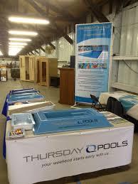 thursday pools llc and backyard leisure team up thursday pools