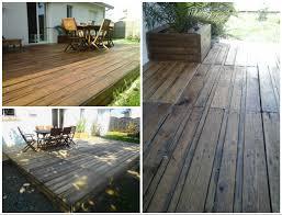 terasse en palette terrasse en palette pallet terrace deck u2022 1001 pallets