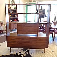 Mid Century Secretary Desk by Midcentury Danish Modern Walnut Room Divider Gorgeous Walnut