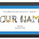 christian baptism gifts baby christening gifts using letters from the christian