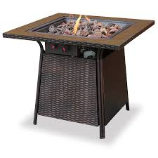 Amazon Com Venice Outdoor Wicker Pa - shop fire pits u0026 accessories at lowes com