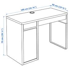 Schreibtisch Bis 50 Euro Micke Schreibtisch Weiß Ikea