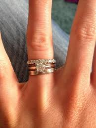 wedding ring order inspirational what order to wear wedding and engagement rings