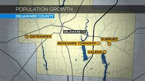 Delaware Ohio Map by Delaware County Is Fastest Growing County In Ohio Wbns 10tv