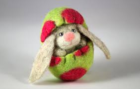 felted easter eggs adorable needle felted easter decorations