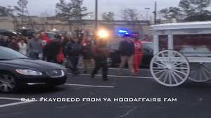 video r i p kayo redd funeral service traps n trunks