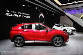 mitsubishi eclipse 2018 mitsubishi eclipse cross looks even better up close and