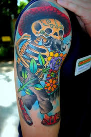 get colored with amazing colored tattoos
