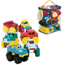 monster trucks toys mini monster trucks set of 6 creative kidstuff