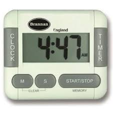 count and up digital timer and clock brannan