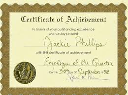 certificate employee of the month sample of announcement memo
