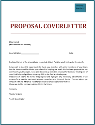 cover letter for proposal submission 2131