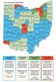 Map Ohio Counties by Ohio Tinkers With Deer Hunting Dates To Soothe Unhappy Hunters