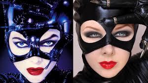 ben nye halloween makeup transforming into catwoman makeup tutorial youtube