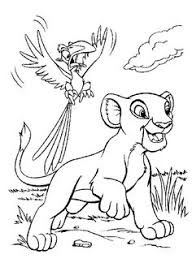 lion king family coloring pages kings 1st birthday