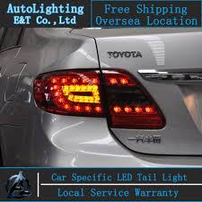 2011 toyota corolla brake light bulb auto lighting style led tail l for toyota corolla led tail lights