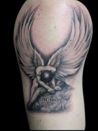 30 fallen angel tattoo ideas