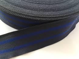 grosgrain ribbon belt 1 6 charcoal gray and blue striped ribbon grosgrain ribbon