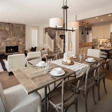 best rustic style dining room decor