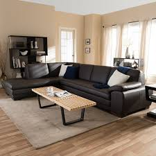 Cheap Modern Sectional Sofas by Living Room Laminate Wood Floor And Metal Base Coffee Table Also