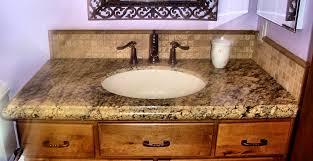 bathroom stunning granite countertop gazzanoaddjpg bathroom used