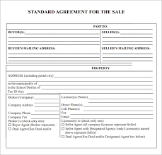 sales contract agreement templates contract templates