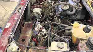 mk1 rabbit pickup caddy diesel engine removal for aaz swap