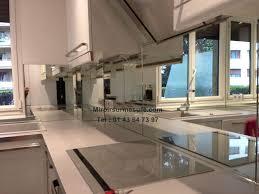 credence cuisine miroir credence miroir argent2 professionnel du miroir sur mesure