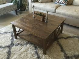 unfinished square coffee table amazon com customer reviews international concepts ot 70sc hton
