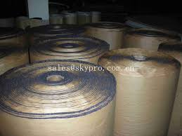 Good Quality Sheets Self Adhesive Neoprene Foam Sheets Die Cutting Foam Rubber