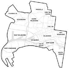Councils Of Melbourne Map Melbourne City Council