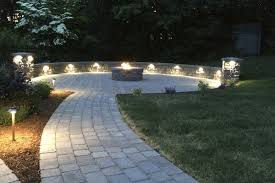 nh stone work and landscape outdoor lighting nowak landscape