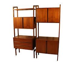 mid century modern room divider modern room divider bookcase