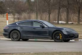 porsche panamera inside 2017 porsche panamera sedan gets fresh look and upgraded engine