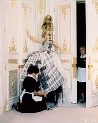 checking out kate moss at the ritz paris vogue