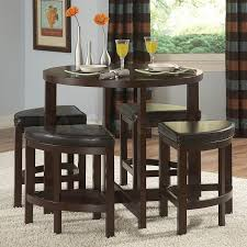 bar stool table and chairs perfect diy high top bar table for your small home remodel tables