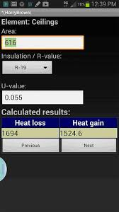 Hvac Residential Load Calculation Worksheet by Ems Hvac Load Calculator Android Apps On Play