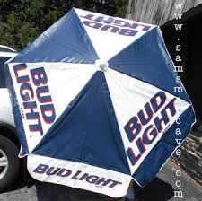 Bud Light Patio Umbrella Bud Light Metal Patio Umbrella Sam S Cave