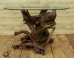 Log Cabin Dining Room Furniture Beautiful Driftwood Coffee Table And Driftwood Dining Table