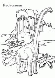 dinosaurs coloring pages for kids to print and color
